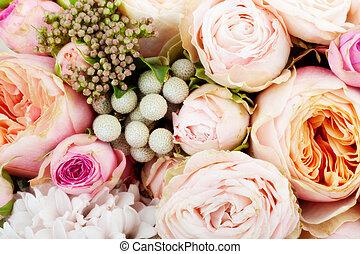 bouquet, beutiful, fleurs