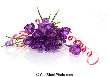 bouquet, colchique