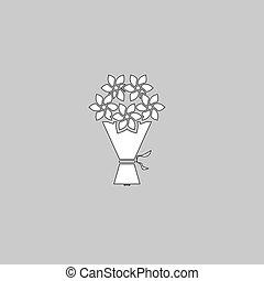 bouquet computer symbol