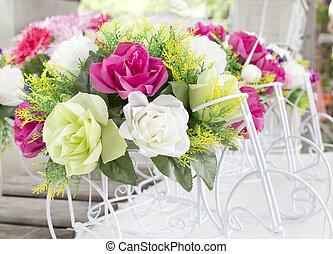 bouquet, décoration, fleur