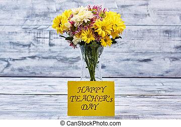 bouquet, de, automne, flowers.