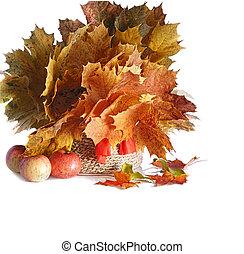 bouquet, de, automne