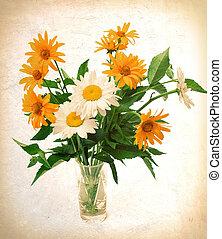 bouquet t fleurs sauvage t bouquet fond sauvage. Black Bedroom Furniture Sets. Home Design Ideas
