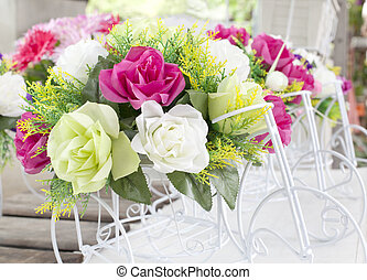 bouquet, fleur, décoration