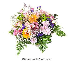 bouquet, fleur, studio