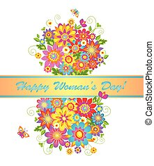 Bouquet for Women's day