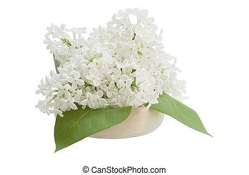 bouquet, lilas