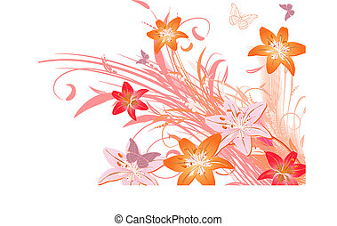 bouquet lily