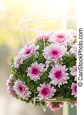 Bouquet made of Chrysanthemum