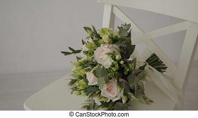 bouquet mariage, beau, flowers., frais