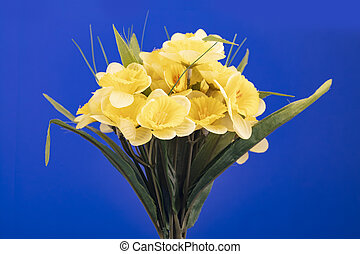 Bouquet of artificial jonquil