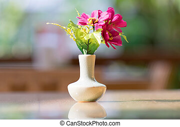 Bouquet of flower in vase