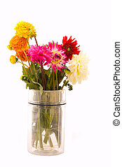 Bouquet of Flowers - Bouquet of assorted flowers in a vase.