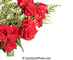 Bouquet of rose. - Bouquet of rose isolated on white...