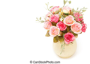 bouquet of spring flowers decoration vintage style