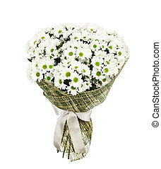 Bouquet of white camomiles