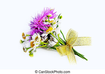Bouquet of wild flowers.