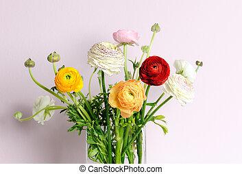 bouquet, printemps