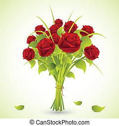 bouquet rózsa