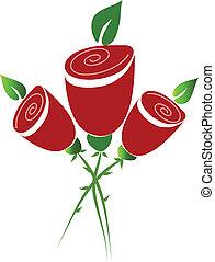 bouquet, roser