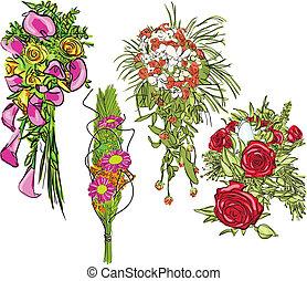 bouquet set