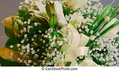 Bouquet - In frame wedding bouquet.