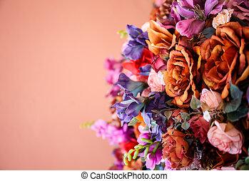 bouquet vintage style
