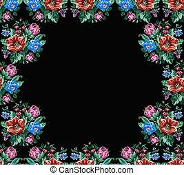 bouquet, wildflowers, couleur
