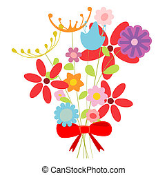 bouquetten, bloemen