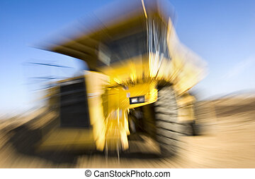 bourdonner, camion