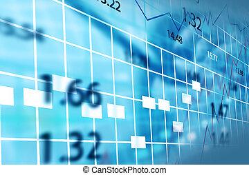 bourse, chart.