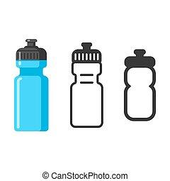 bouteille eau, sports