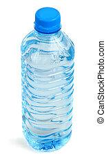 bouteille, entiers, de, eau
