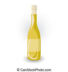 bouteille, icône