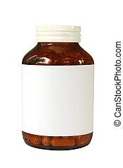 bouteille pilule