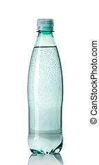 bouteille plastique, de, eau