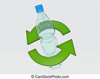 recyclage concept bouteille plastique coeur concept dessin rechercher des. Black Bedroom Furniture Sets. Home Design Ideas