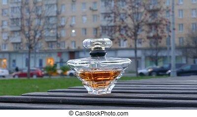 bouteille, urbain, trafic, parfum