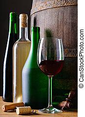 bouteilles, vin