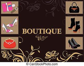 Boutique. Design for shop
