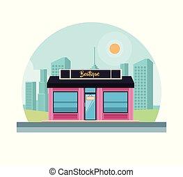 Boutique shop store