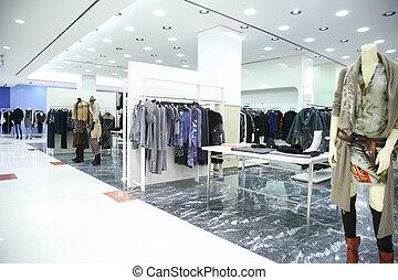 boutique, vestiti