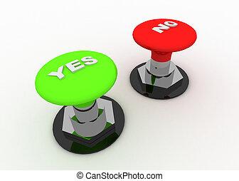 bouton, concept