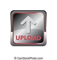 bouton, envoyer un fichier par transfert de données en une ordinateur