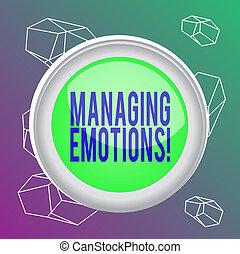 bouton, fond, ouvert, milieu, être, cercle, concept, commutateur, sentiments, modulate, mot, shaped., texte, emotions., business, les, écriture, centre, rond, diriger, sphère, coloré, capacité, soi-même