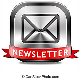 bouton, newsletter
