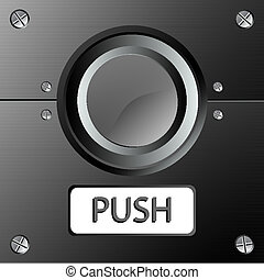 bouton, panneau