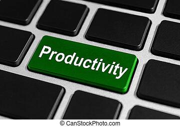 bouton, productivité, clavier