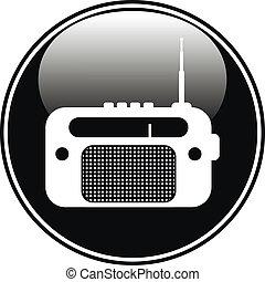 bouton, radio