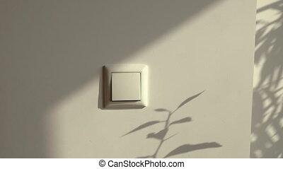 bouton, switch., commutateur léger